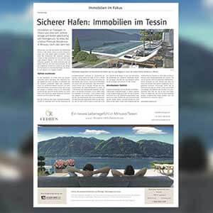 Novità mercato immobiliare - Partnership con i più importanti titoli di stampa svizzeri