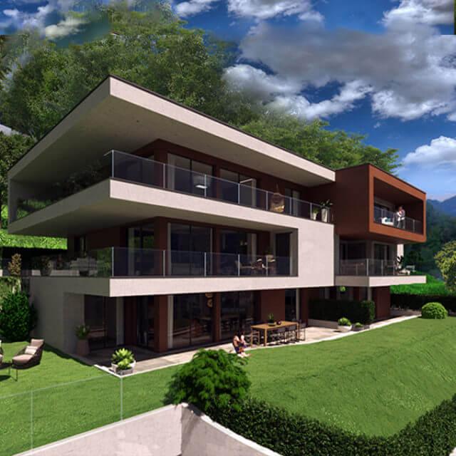 Residenza Echina a Comano - Studiogest residenze di lusso